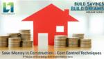 Cost Control Techniques adeptalgorithms